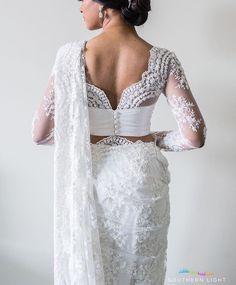 Bridal Saree | Indian/Sri Lankan Design Inspired | Beautiful & Chic | Love the details