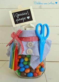 Regal per la mestra / present for a teacher