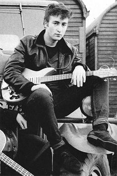 John Lennon photographed by Astrid Kirchherr. Beautiful beautiful boy