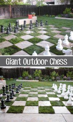 play in the garden - idea
