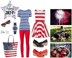 4th of July outfit #4thofJuly #patrioticclothes