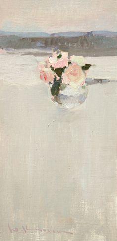 Yuri Konstantinov: Roses. Twilight