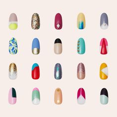 Meet our Spring /Summer 2016 collection, launching TODAY! There's fresh paint for all personalities. #paintboxmani