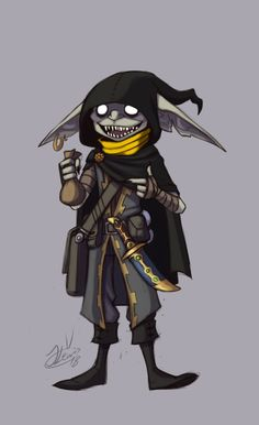 Shikey BlackFinger by ThatweirdguyJosh on DeviantArt Fantasy Character Design, Character Creation, Character Design Inspiration, Character Concept, Character Art, Dungeons And Dragons Characters, Dnd Characters, Fantasy Characters, Goblin Art