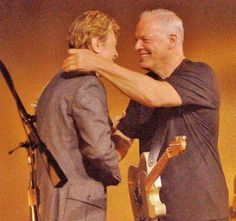 Embedded image permalink - David Bowie and Gilmore David Bowie, Musica Punk, David Gilmour Pink Floyd, Comfortably Numb, Estilo Rock, Stevie Ray Vaughan, Ziggy Stardust, Rock Legends, Keith Richards