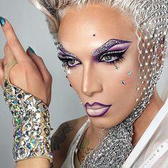 0133 November 2014 Painted for Filth Drag Makeup - Miss Fame RuPaul's Drag Race