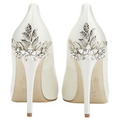 Harriet Wilde Marina Daisy - Wedding Shoes - Crystal Bridal Accessories