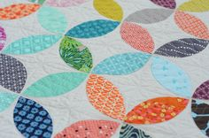 Hyacinth Quilt Designs: Orange Peel Quilt