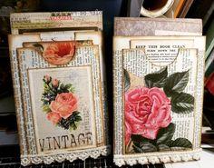 A new insert has been born. Loving it! Paper Bag Album, Journal Paper, Journal Cards, Junk Journal, Art Journals, Journal Ideas, Handmade Journals, Handmade Books, Vintage Paper Crafts
