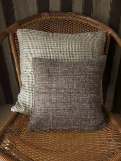 Handwoven Cushion Cover / Dark Brown