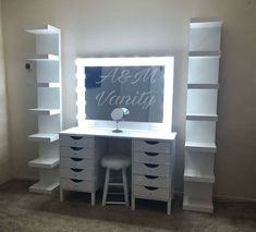 Whole vanity set bundle mothers day special for Sale in Upland, CA – OfferUp Whole vanity set bundle mothers day special (Beauty & Health) in Upland, CA – OfferUp Vanity Makeup Rooms, Makeup Room Decor, Vanity Room, Ikea Vanity Table, White Makeup Vanity, Vanity For Sale, Makeup Vanity Lighting, Corner Vanity, Makeup Table Vanity