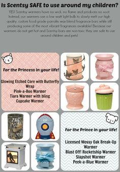 Is Scentsy safe to use around my children? Becki Utley Becki918@yahoo.com Www.beckiutley.scentsy.us
