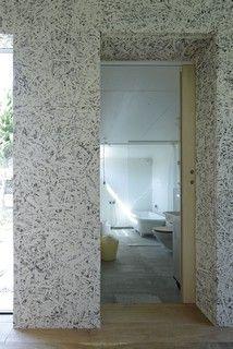 OSB painted walls