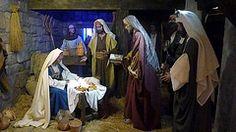 BELENES 2012 002. La adoración de los Reyes Magos, los españoles.