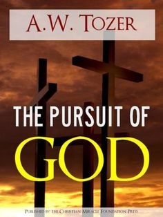 More than any other single author, Tozer inspires me to believe in a satisfying life shared with a very present God.