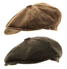 8d2a595e6396c Details about Mens Herringbone Baker Boy Caps Newsboy Hat Country Peaky  Blinder Style Flat Cap