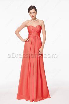 282 Best Coral bridesmaid dresses images  8d6932325c1c