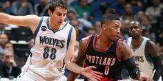 Damian Lillard et les Trailblazers se sont relancés sur le parquet des Timberwolves. (NBA/Getty Images)