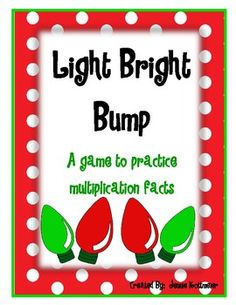 A fun way to practice multiplication facts!