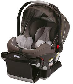 Hooray for a rear-facing car seat that won't squish your toddler's legs. Graco SnugRide Click Connect 40