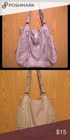 Converse purse Good Used condition, converse all star purse. Has two shoulder straps. Lots of pockets. Converse Bags Shoulder Bags