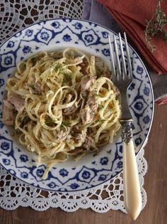 Sashimi, Tapas, Dessert Chef, Asparagus Bacon, Culinary Arts, Pasta Dishes, Seafood, Recipies, Spaghetti