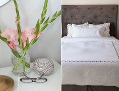 Grey & Scout cute West Elm bedding, the same as Olivia Pope's Scandal bedroom