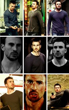 Chris Evans in Push-I like him better in this built and this look. :)