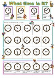 english exercises what time is it we love worksheets pinterest english worksheets and. Black Bedroom Furniture Sets. Home Design Ideas