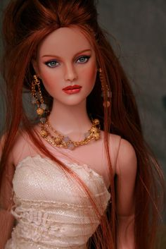 Beautiful repainted doll