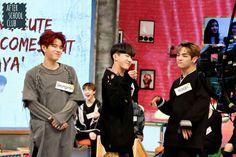 Seungmin, Changbin and Woojin