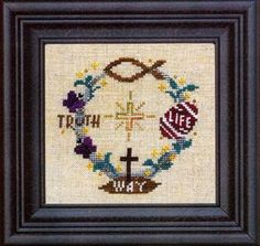 Find Your Way To Easter is the title of this cross stitch pattern from Bent Creek that includes embellishments. Please note expected deliver...