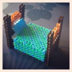 bed, Perler Bead 3D