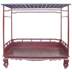 19th Century Chinese Day Bed | From a unique collection of antique and modern beds at https://www.1stdibs.com/furniture/more-furniture-collectibles/beds/