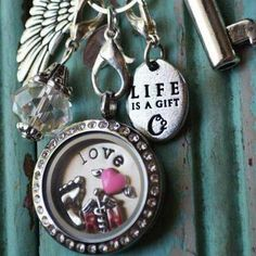 HUG your Nurse today! or show her your appreciation for ALL that she does with a beautiful Origami Owl Locket!