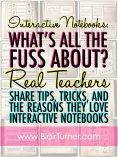 Interactive Notebooks: Tips, Tricks, and Why We Love Them - BlairTurner.com