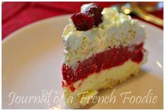 Vacherin Gelato Cake, Raspberry Sorbet, Cheesecake, Journal, Sweet, Desserts, Recipes, Food, Products