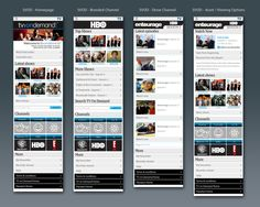 Mobile portal UI design Portal Website, User Flow, Ui Design, User Interface Design