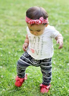 Esto comprueba que los leggings se hicieron sólo para los bebés ⋮ Es la moda