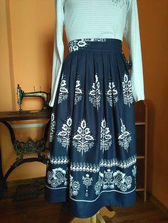 ivettetextil / Zavinovacia sukňa Waist Skirt, High Waisted Skirt, Floral, Skirts, Fashion, Moda, High Waist Skirt, Fashion Styles, Skirt