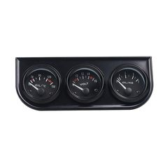 Remote wireless led light bar control box flashing strobe controller 52mm 3 in 1 car triple kit volt meter water temp oil pressure gauge tachometer mozeypictures Image collections
