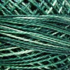 Size 12, O550, Valdani Perle Cotton, Caribbean Blue, Wool Applique, Cross Stitch, Embroidery, Punch Needle, Penny Rugs, Hardanger, Crewel, www.farmersattic.etsy.com, $4.89