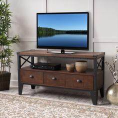 Chestin Wood Finish TV Stand