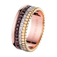 キャトル クラシック ダイヤモンドリング スモール , a Maison Boucheron Jewelry creation. A Boucheron creation tells a Story, that of the Maison and your own.
