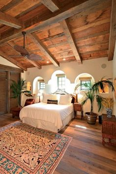 How to Install a Reclaimed Wood Floor - My-House-My-Home Spanish Style Homes, Spanish House, Spanish Style Decor, Spanish Revival, Spanish Style Interiors, Spanish Colonial Decor, Mexican Style Homes, Hacienda Style Homes, Style At Home