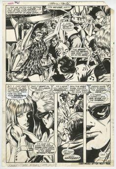 DAREDEVIL #61 PAGE 6 HALF SPLASH