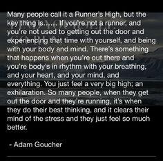 The Runner's High.
