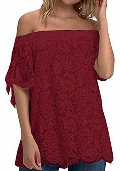 61e3282223b92 Black Patchwork Lace Round Neck Three Quarter Length Sleeve T-Shirt ...