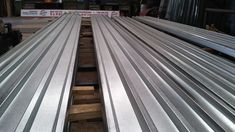 Galvanized Roof Sheets Rolled out by Paramount Metal Concepts Roof Sheets, Metal, Wood, Woodwind Instrument, Timber Wood, Metals, Trees