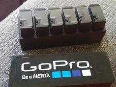 GoPro battery holder (6pc) by mbprod - Thingiverse